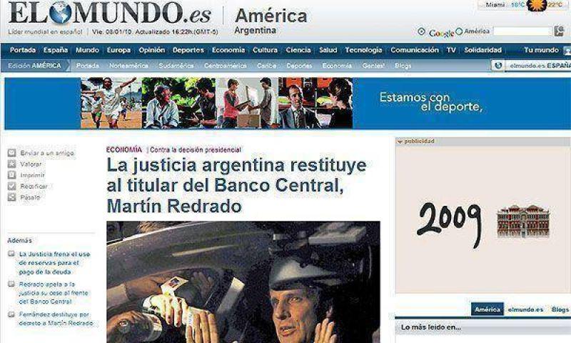Los medios del mundo siguen con la atención puesta en la Argentina