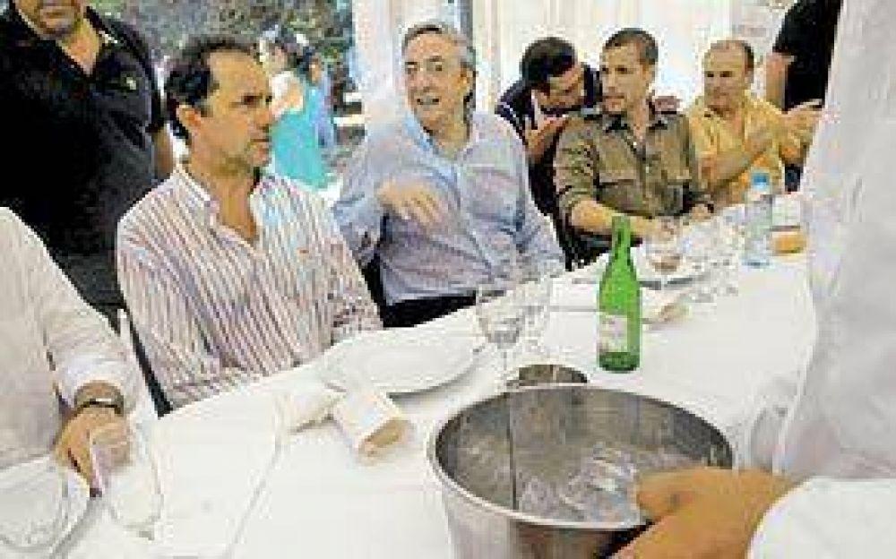 Kirchner atacó a Cobos y lo acusó de ser parte de una conspiración