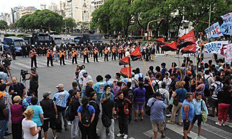 Grupos piqueteros marcharán por la ciudad de Buenos Aires
