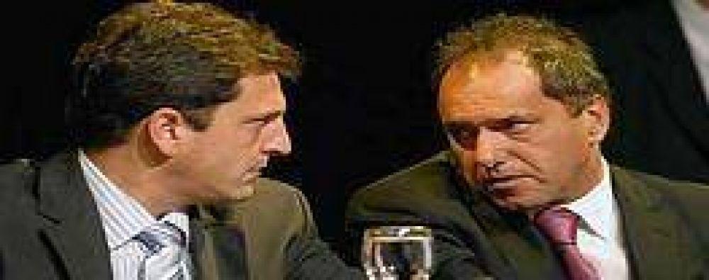 """Massa: """"Scioli se desentiende de los problemas"""" del Gran BA"""