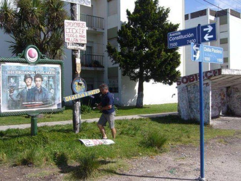 La municipalidad retir� 185 carteles ilegales