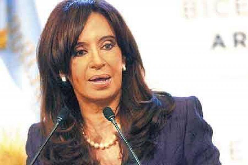 "Cristina: ""Cobos quiere ser presidente antes de 2011"""