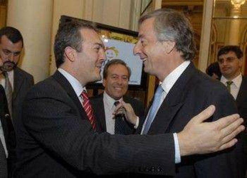 De las 42 cuadras que prometi� Kirchner, s�lo se pavimentaron 17