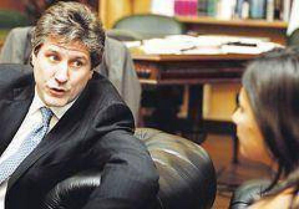 """Boudou: """"En febrero se hace oferta y se cierra el canje"""""""