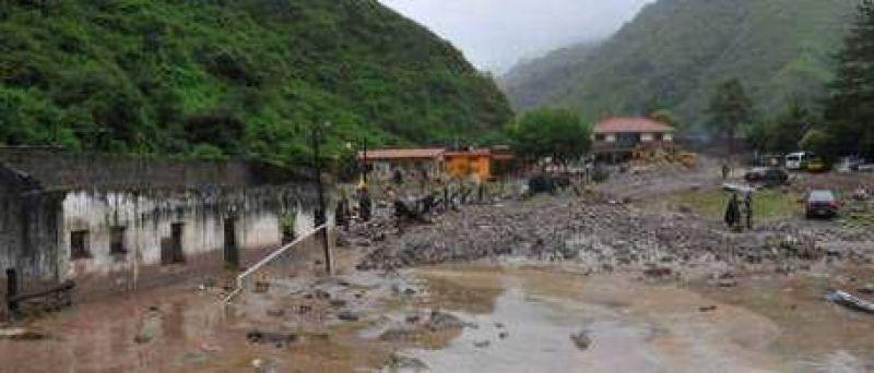 Un alud arrasó con todo en Jujuy y dejó 97 heridos
