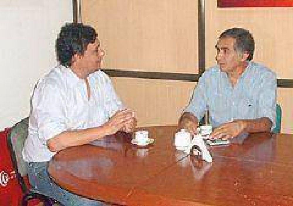 El delegado del INAES se reunió con el presidente de Coopegraf