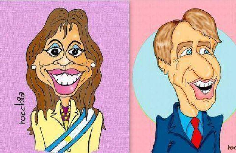 Presidenta Cristina Kirchner: no dejó títere con cabeza