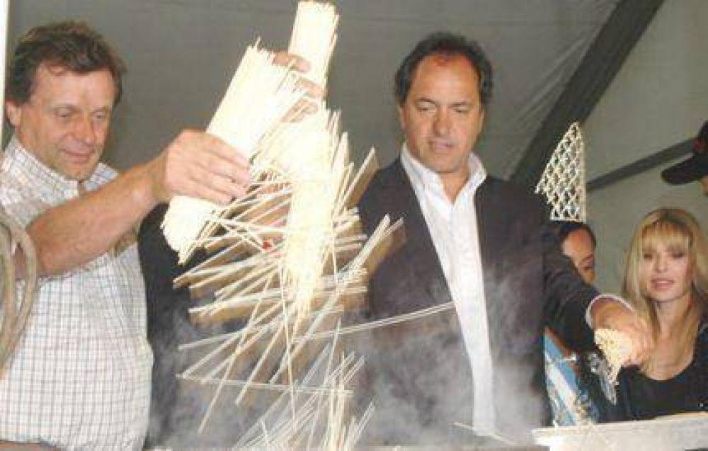 Scioli pidió cuidar a la Argentina y respetar a la Presidenta para llegar al 2011