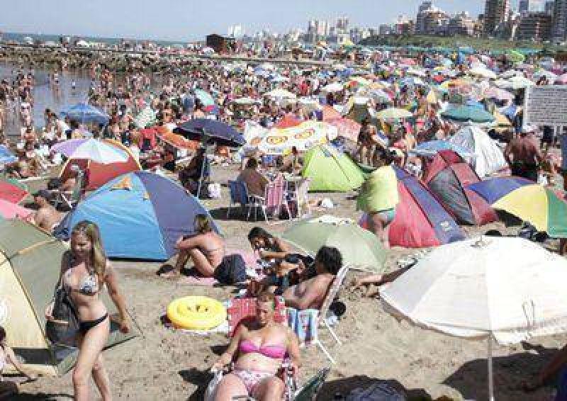 Mar del Plata ya recibi� casi medio mill�n de turistas