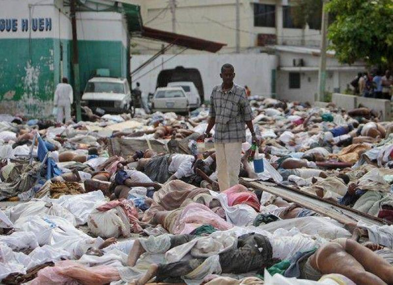 Hait�: se demora la ayuda y reina el caos