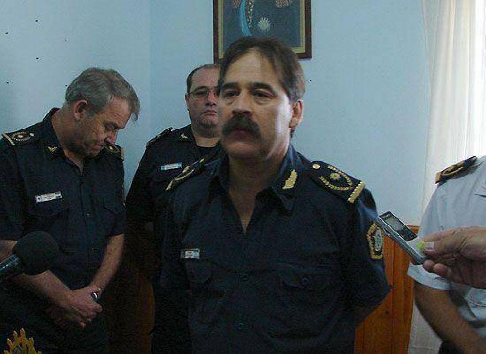 Luis Gauna, ex jefe Distrital de Olavarría, subió a segundo interino de la Departamental Azul