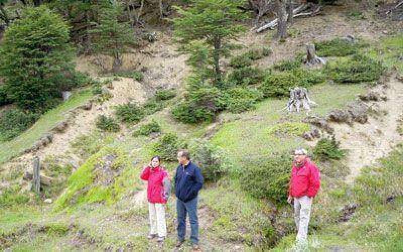 Prosigue relevamiento para el trazado del Corredor Cordillerano