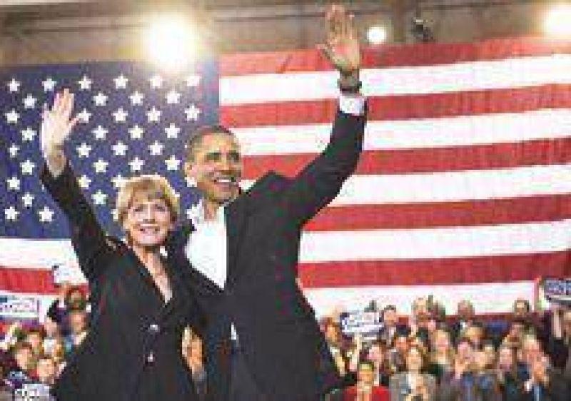 Obama se zambulló en la campaña