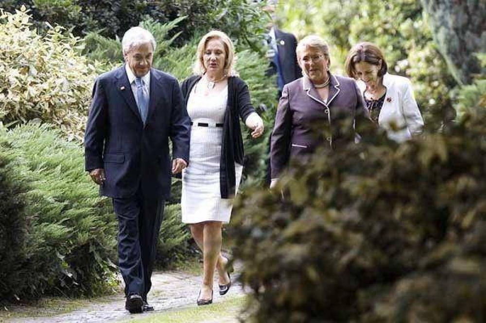 Señales de acercamiento de Piñera a los Kirchner