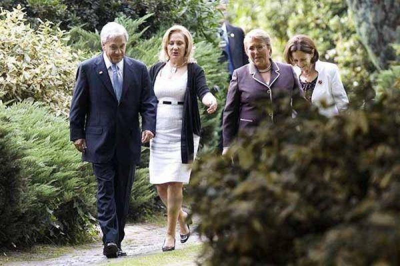 Se�ales de acercamiento de Pi�era a los Kirchner