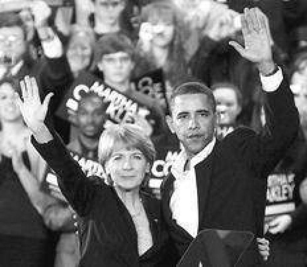 Obama, en un duro primer plano