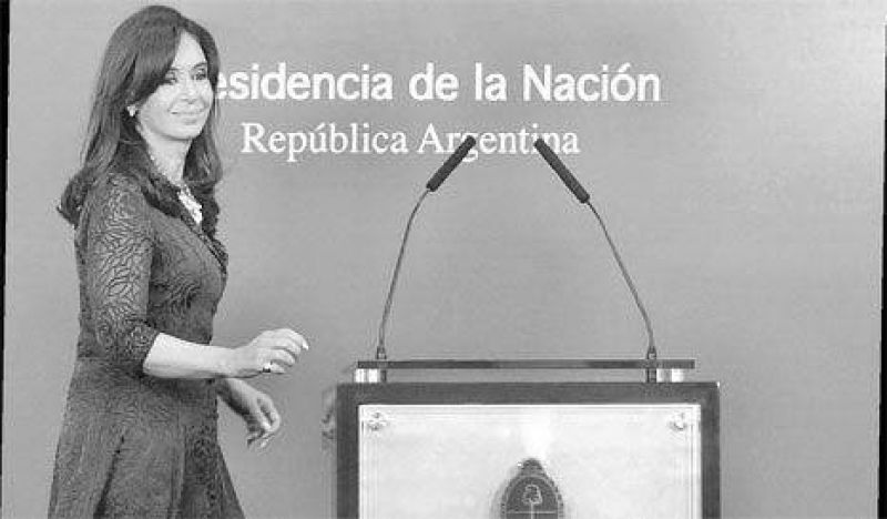 Cristina acepta pasar por el Congreso con receta radical