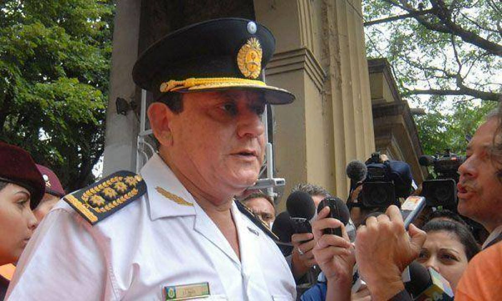 El comisario Paggi admite que falta personal en la Policía de la Provincia de Buenos Aires