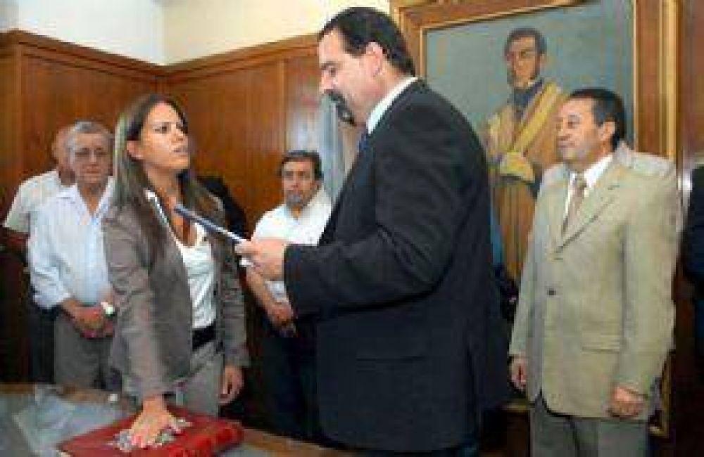 Asumió la nueva subsecretaria de Ciurca