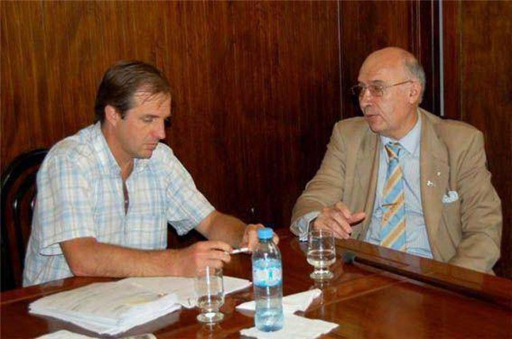 Gorosito se reunió con el intendente de Bolívar