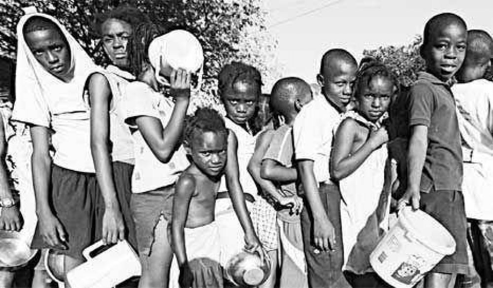 Padres argentinos para chicos haitianos