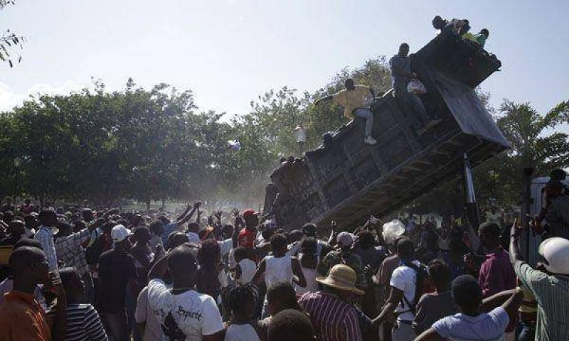 La ONU admiti� que est� desbordada ante la cat�strofe
