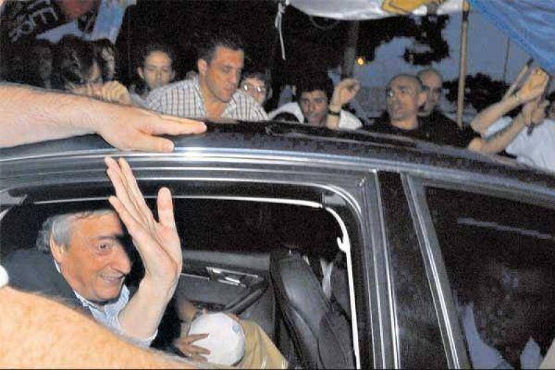 """Kirchner: """"Hay sectores que quieren derrotar al Gobierno antes de fin de a�o"""""""