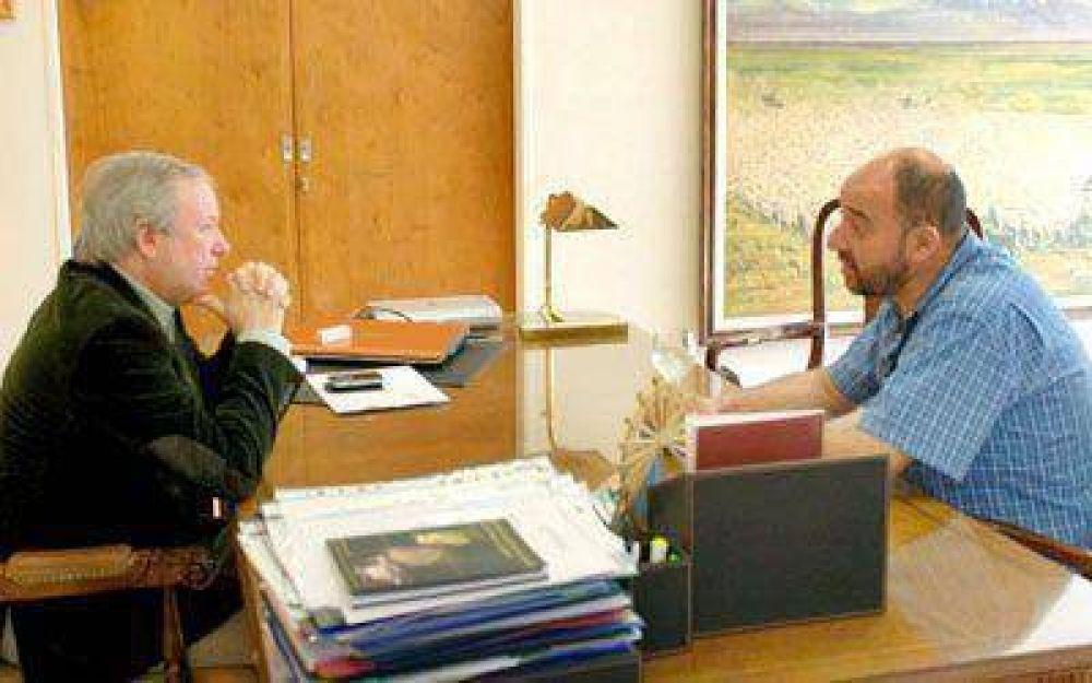 Reasumió Peralta y delinea ejes de trabajo institucionales y políticos