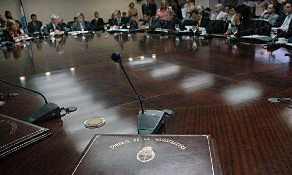 Los opositores ponen en marcha comisiones clave para reformar el Consejo de la Magistratura