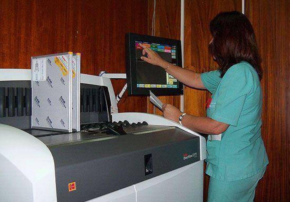Funciona la digitalización de diagnóstico por imágenes