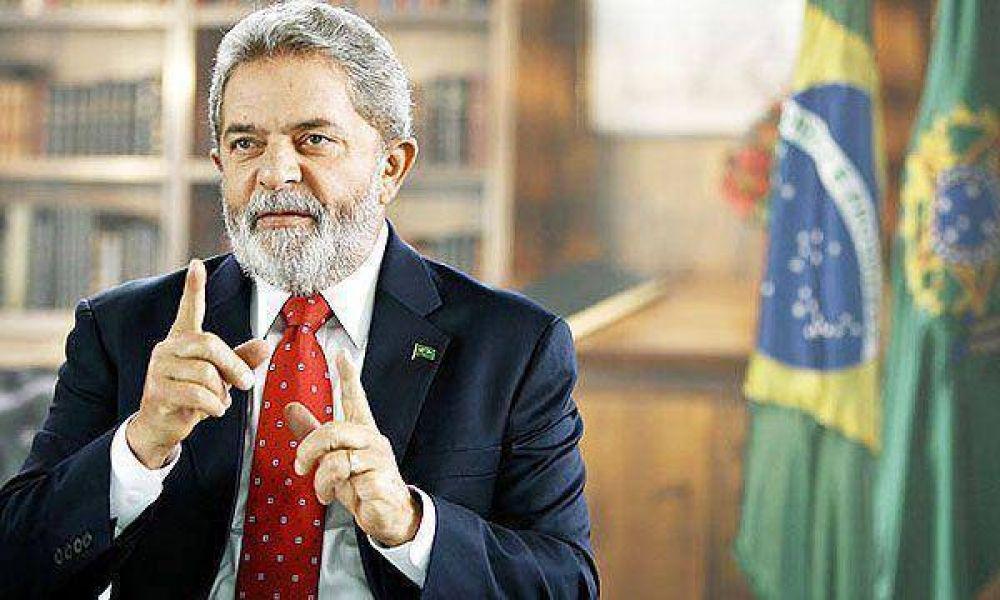 Lula fue internado por un pico de hipertensión y suspende su viaje a la Cumbre de Davos