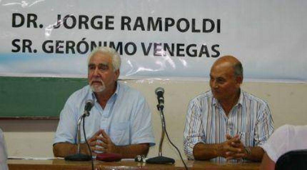 Rampoldi y Venegas buscan revivir la mística peronista tras la figura de Duhalde