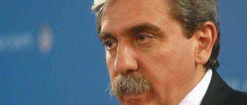 Aníbal F defendió al ministro y dijo que no lo cambia por Mario Blejer
