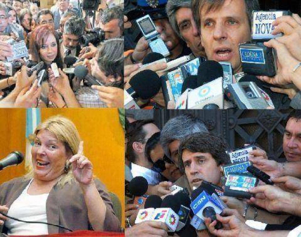 """Sólo con nuestros políticos, jueces y diez periodistas """"olfa"""" de los multimedios se consigue"""