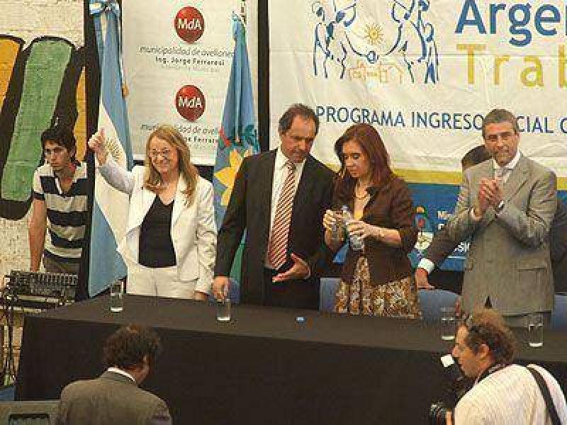 Cristina visita Avellaneda por segunda vez en 20 días