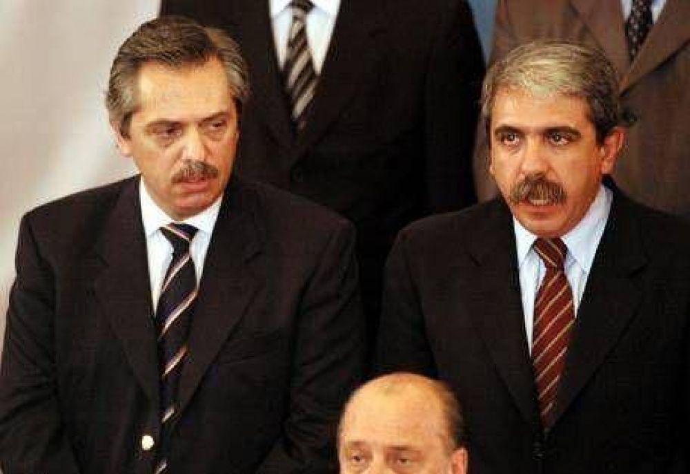 """Para Alberto F, el jefe de Gabinete """"está desbordado y dice estupideces"""""""