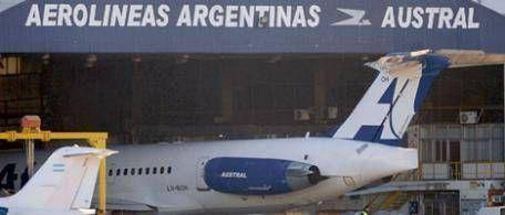 Denuncian a funcionarios de Aerolíneas por el costoso arreglo de un avión en Brasil