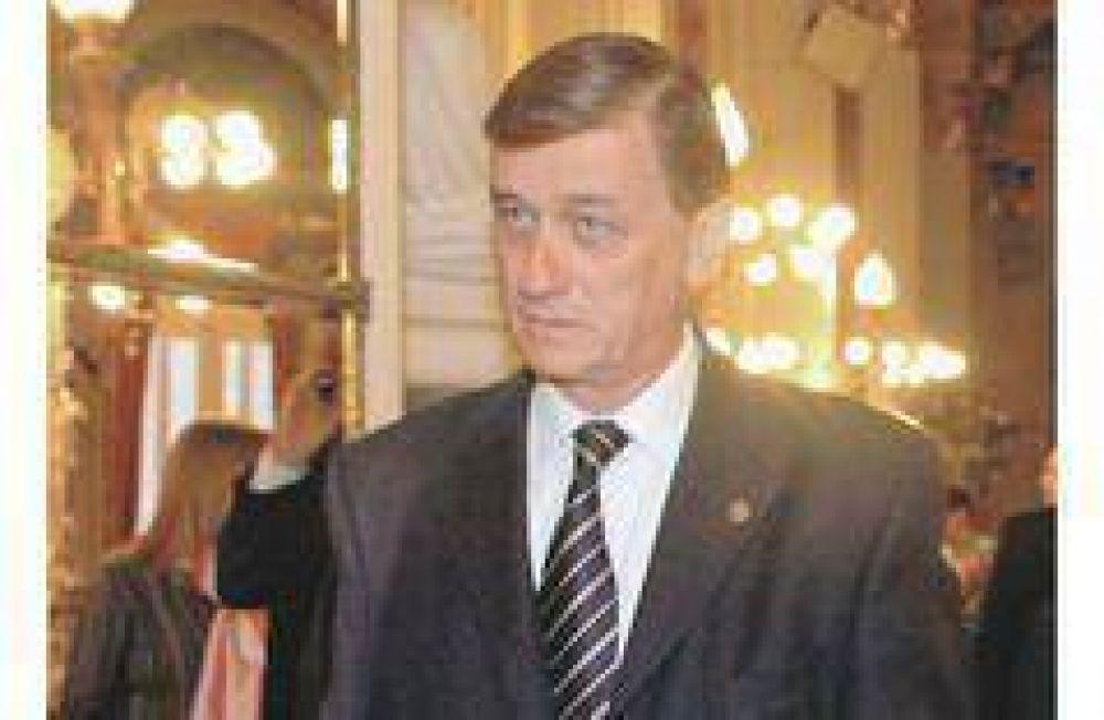 Binner calificó de invotable el decreto para gastar reservas