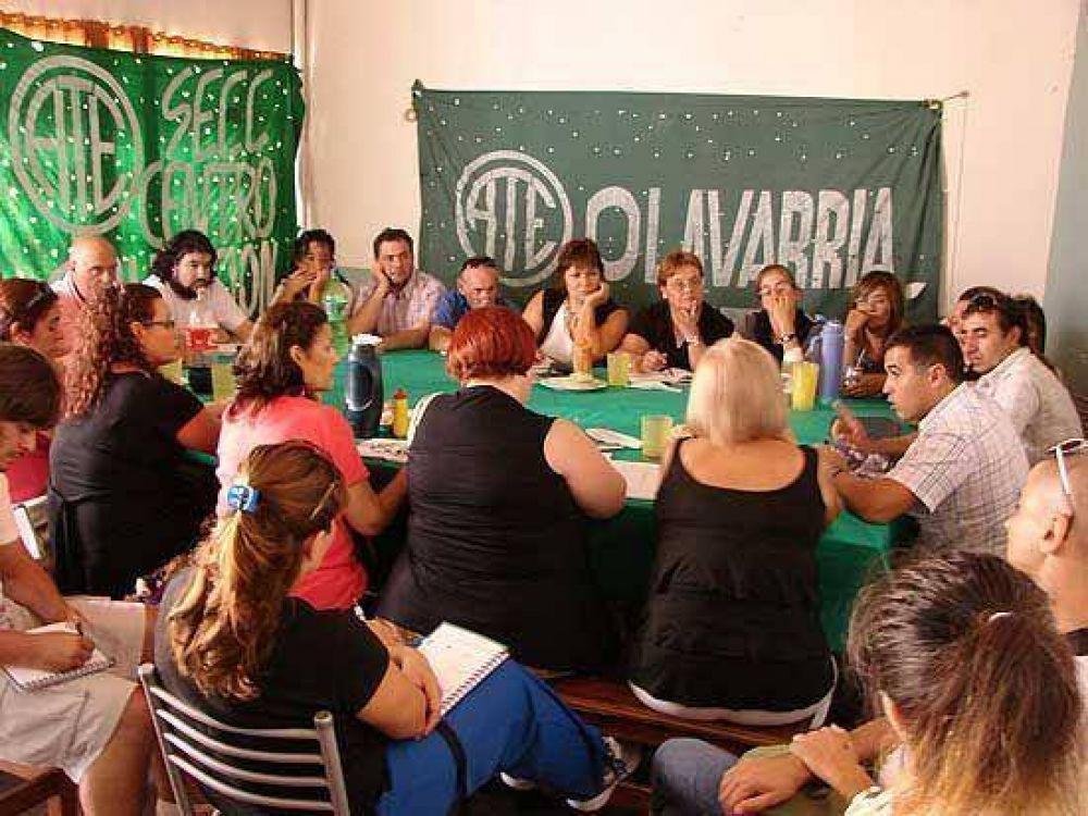 Plenario de la ATE en Olavarría: habrá paro el 18 de marzo