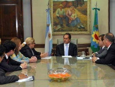 Subsidio y compromiso con el municipio de San Antonio de Areco