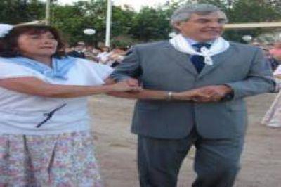 Villa Sauze Celebración del Centenario con inauguración de obras y Alegre bailando el Pericón Nacional