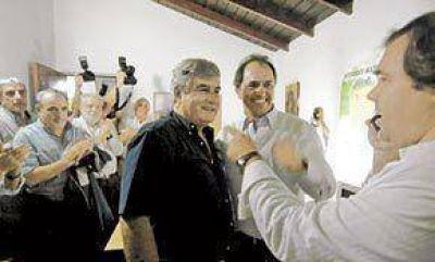 Con el apoyo de Scioli, Blas Altieri vuelve a la intendencia de Pinamar