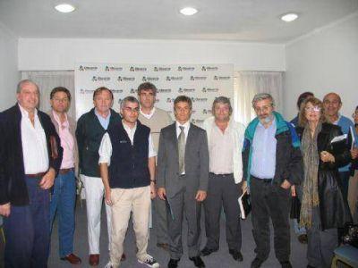 En Olavarría Franetovich se reunió con secretarios de producción de 34 municipios