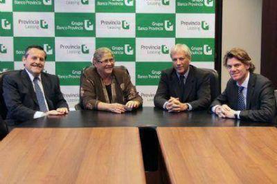 Entrega de bienes Provincia Leasing firmó contrato con el municipio de San Antonio de Areco