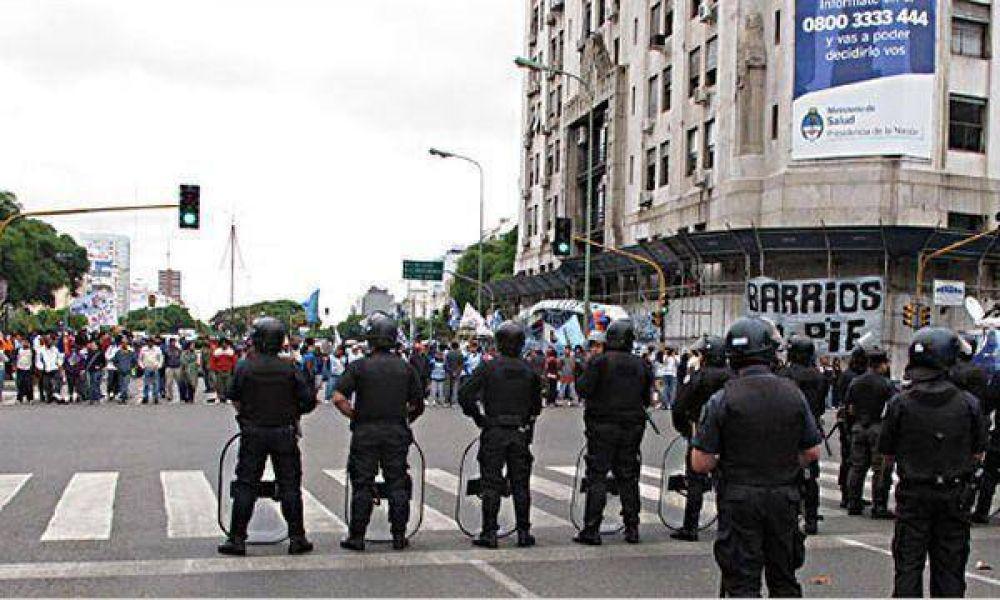 Piqueteros lanzaron amenazas de cortes masivos y carpas en la semana del Bicentenario