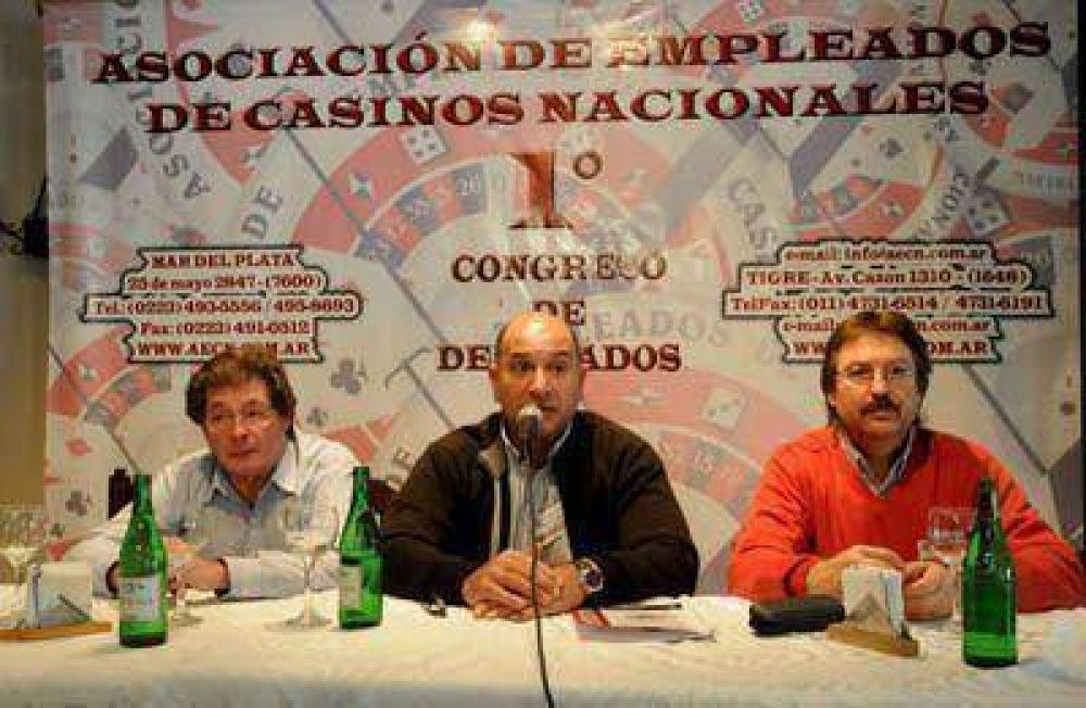 Delegados de Casinos Nacionales analizan la problemática del sector