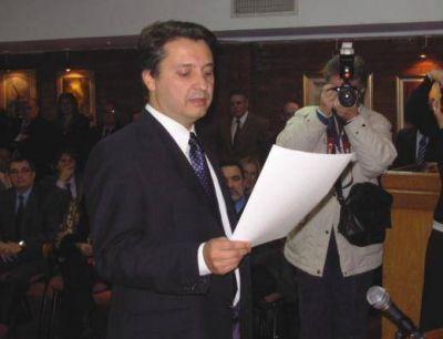 Estará en el cargo durante 4 años Vilaplana asumió como presidente del Colegio de Abogados