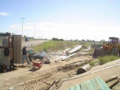 La Ministra de Infraestructura rubricará el acta de inicio de obra de Desagües Pluviales