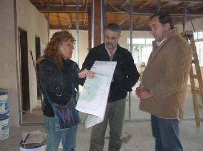 Avanza la obra de construcción y readecuación de la Delegación de Bahía San Blas