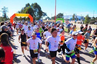 2º duatlón olímpico MH 2010 Cien atletas participaron del duatlón en Monte Hermoso